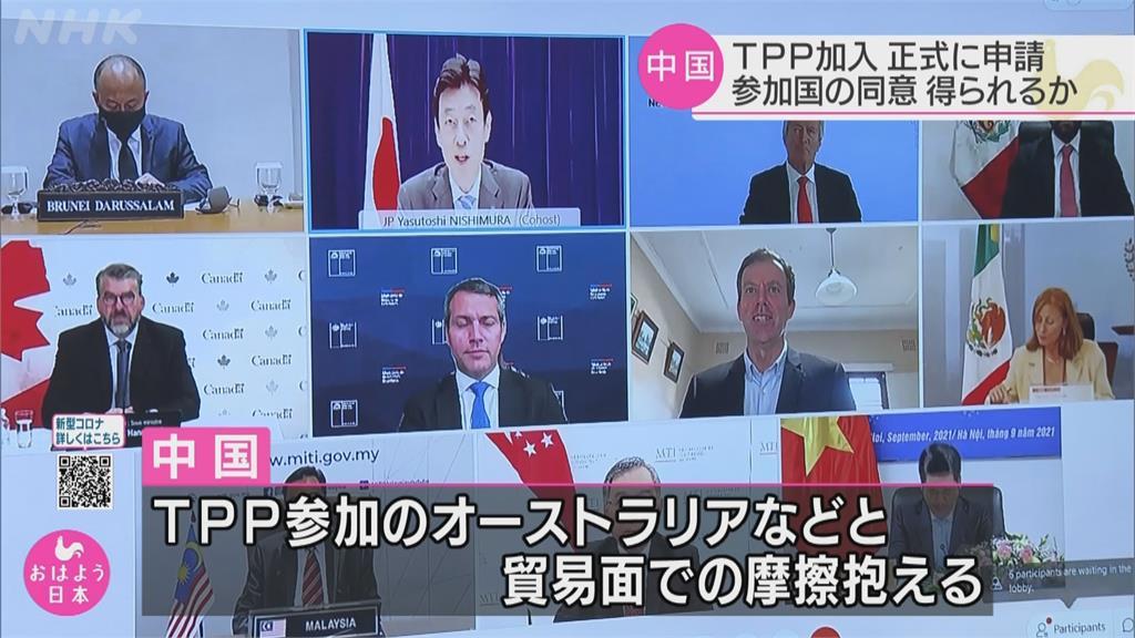 中國申請加入CPTPP 日本慎重以對要觀察