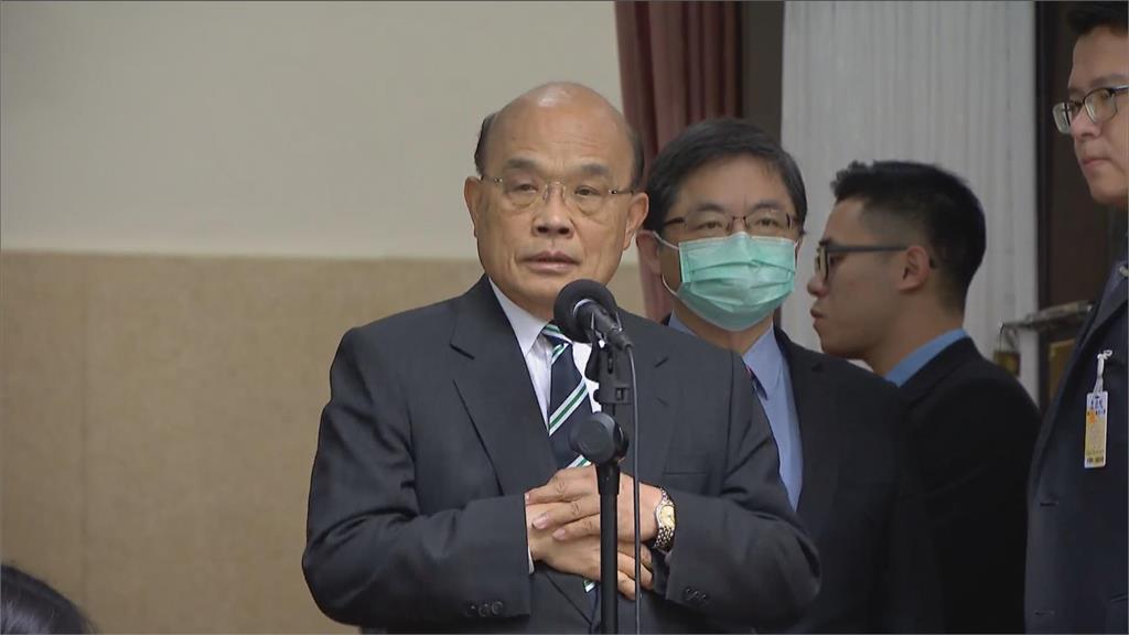 快新聞/施政報告第10度被擋 蘇貞昌:拜託國民黨立委停止杯葛
