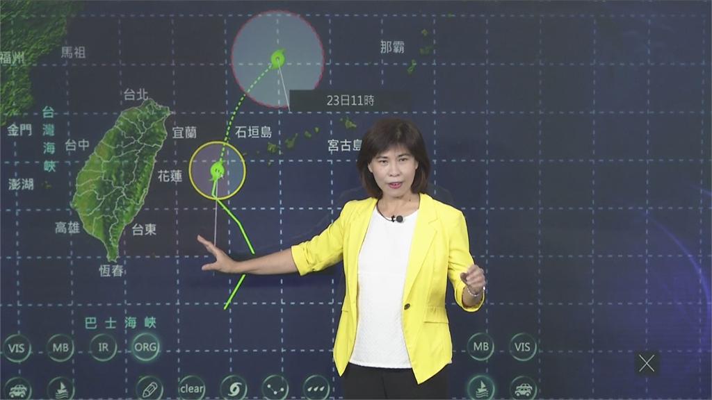 快新聞/輕颱巴威掀2米浪 全台11縣市大雨警戒