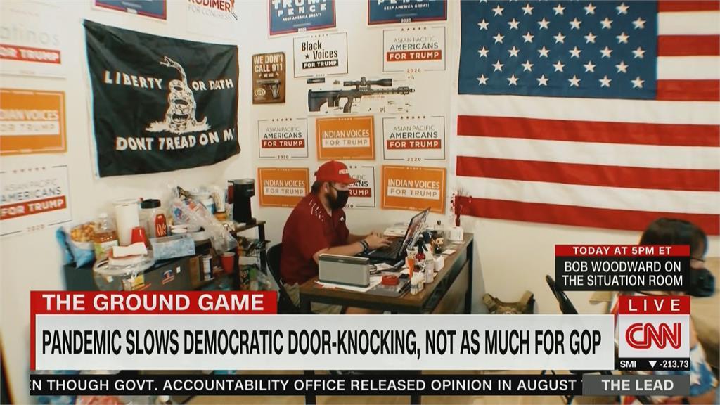 美國大選 登門拜票搶攻基層