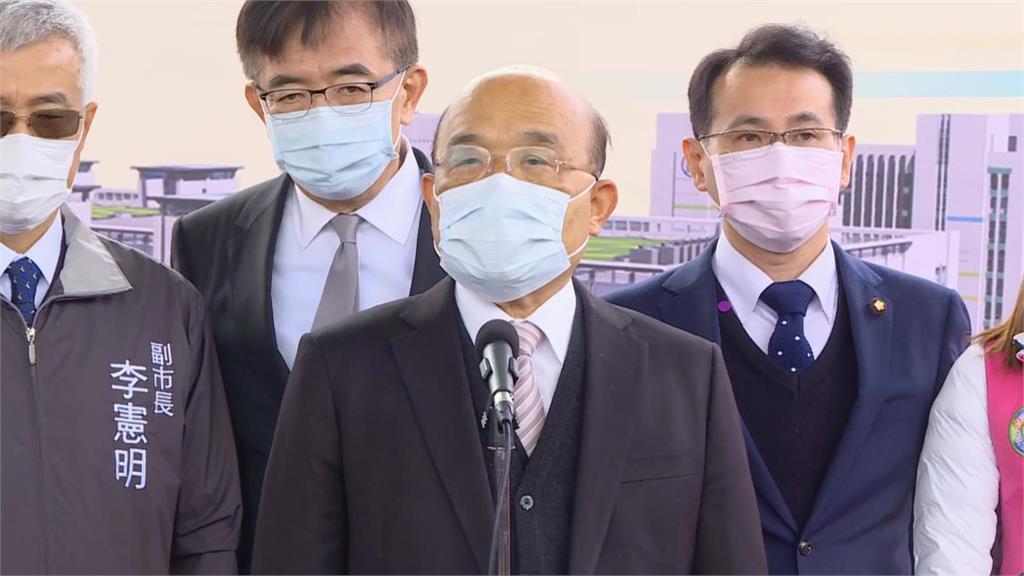 快新聞/北部某醫院院內感染 蘇貞昌:政府隨時檢討也請國人減少移動