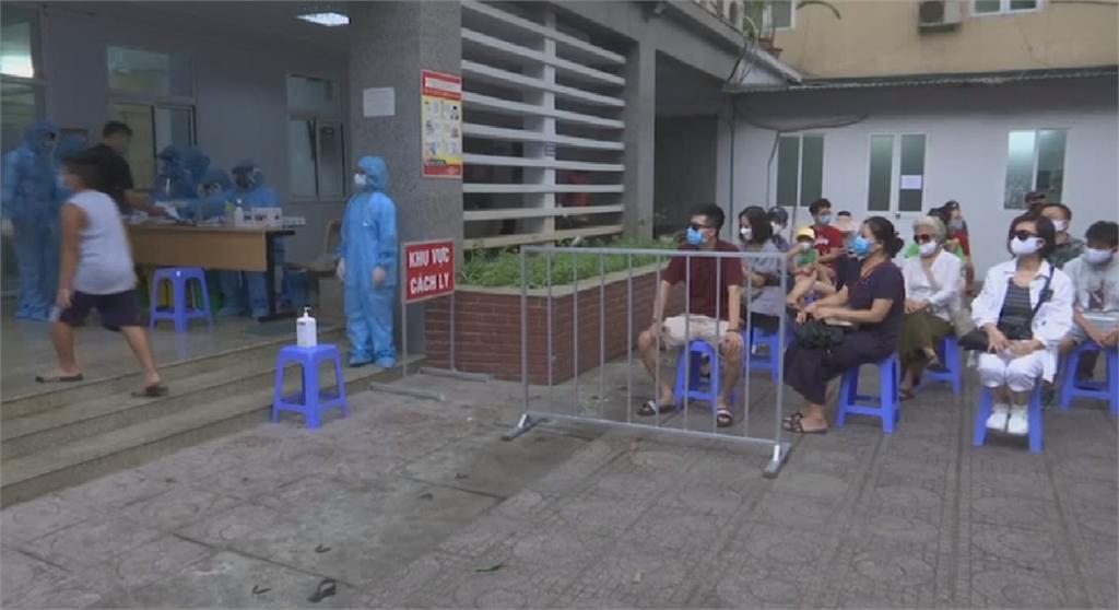 越南疫情持續升溫 零死亡破功