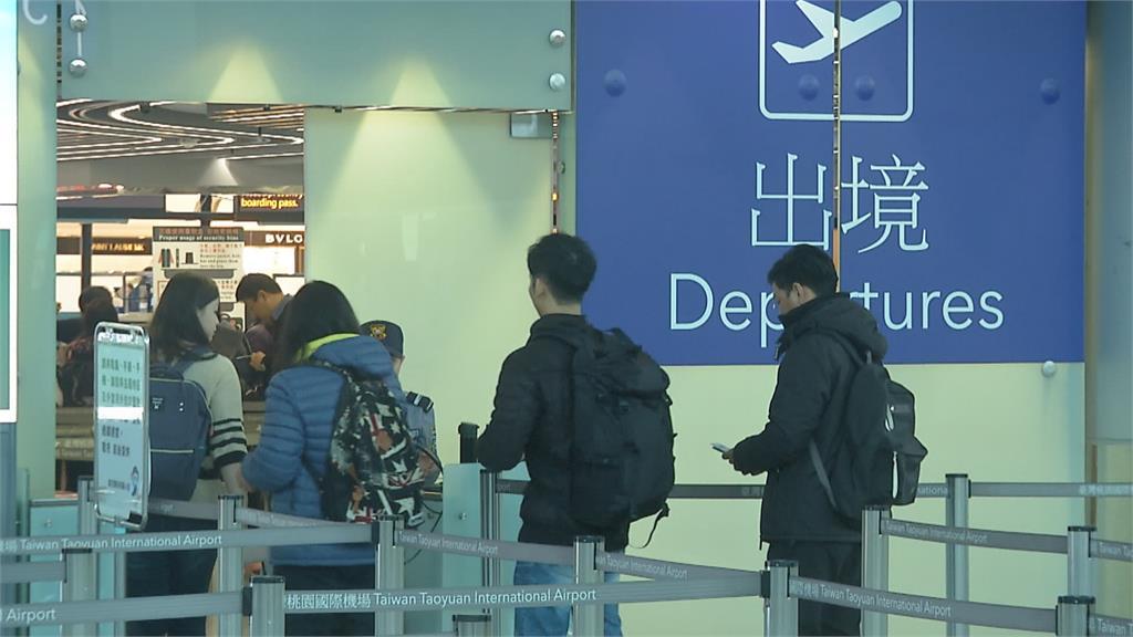 台帛旅遊泡泡成行! 首發團與帛琉總統同機