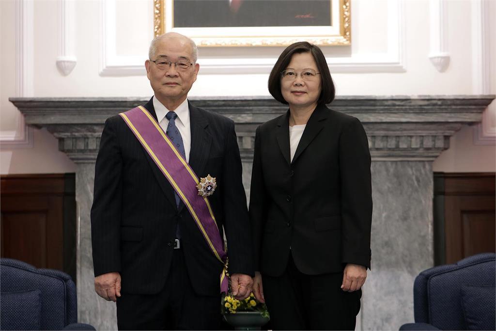 感念「台灣肝帝」陳定信畢生貢獻 蔡英文:努力延續台灣醫療成就