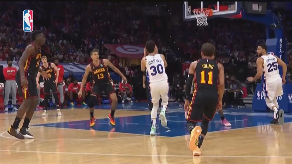 <em>NBA</em>/老鷹淘汰第一種子七六人 最後一戰晉東區決賽