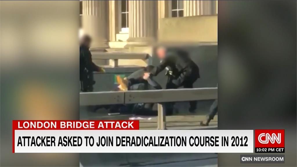 倫敦橋恐怖攻擊釀2死3傷 伊斯蘭國宣稱犯案