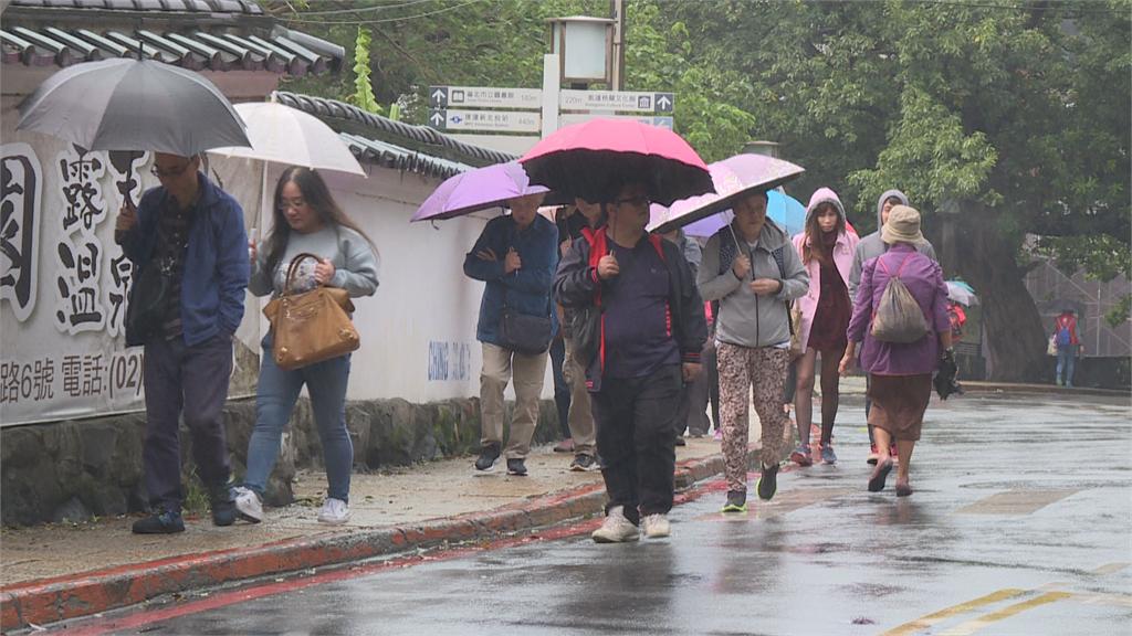 快新聞/首波鋒面明報到 各地午後會有短暫雷陣雨