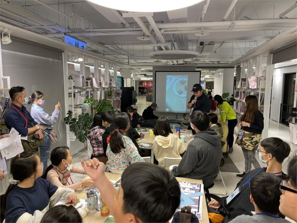 探索光明未來 谷若思、BNI  長安分會、寶貝夢工廠 共創兒童公益職人體驗營