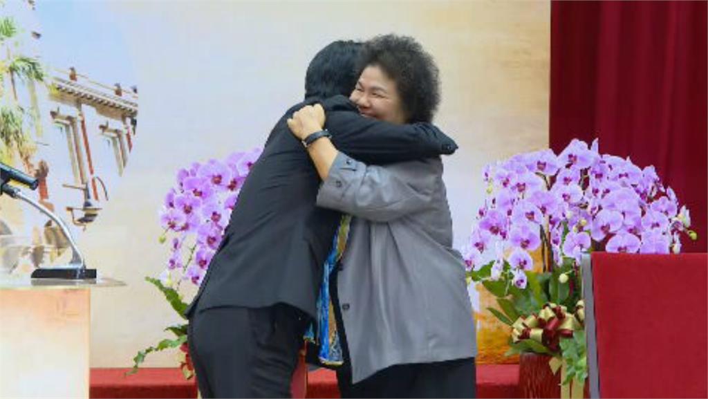 快新聞/陳菊上任監察院長 賴清德監交:再次扛起國家責任必不辜負人民所望