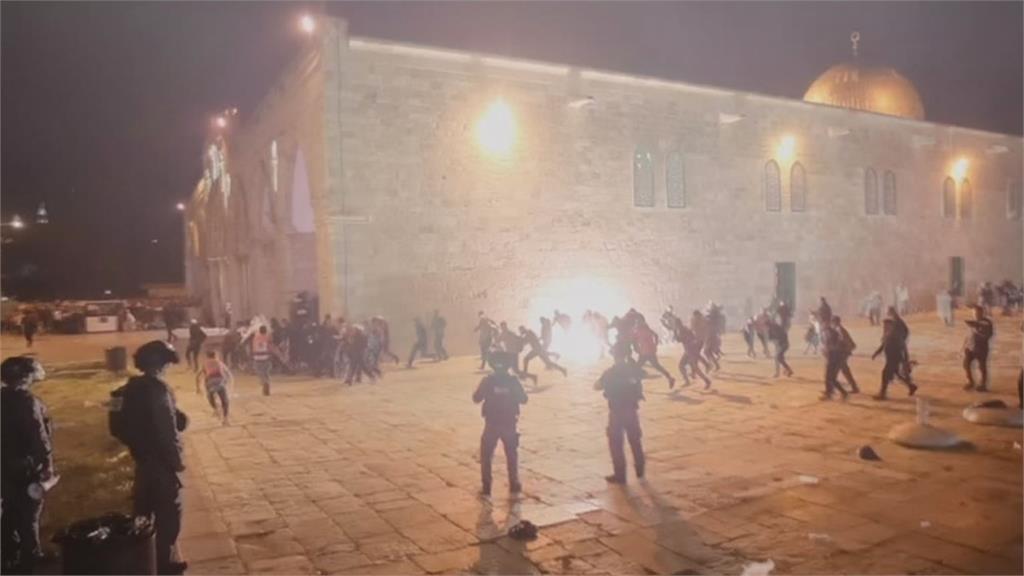 以巴警民激烈衝突 耶路撒冷至少184人傷