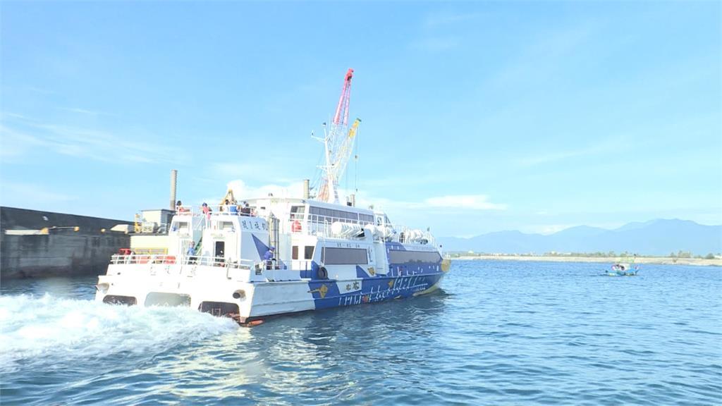 快新聞/盧碧颱風影響 往返「台東-綠島船班」今明全部取消