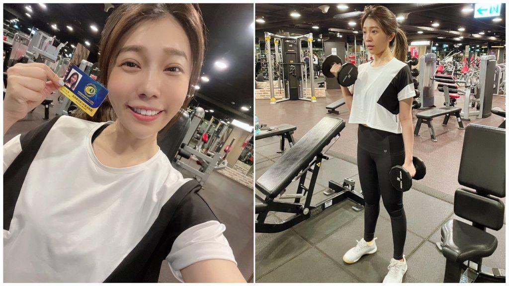 女力蔡家蓁被《綜藝大集合》兩男星放鴿子 她考取體適能健身C級指導員執照