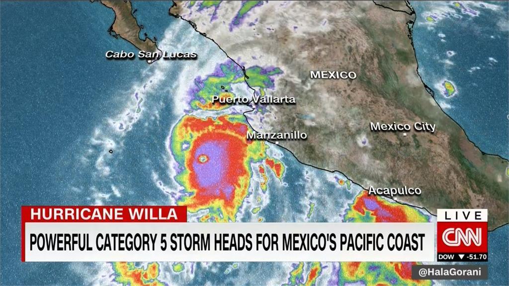 兩熱帶風暴侵襲墨西哥 11人不幸喪生
