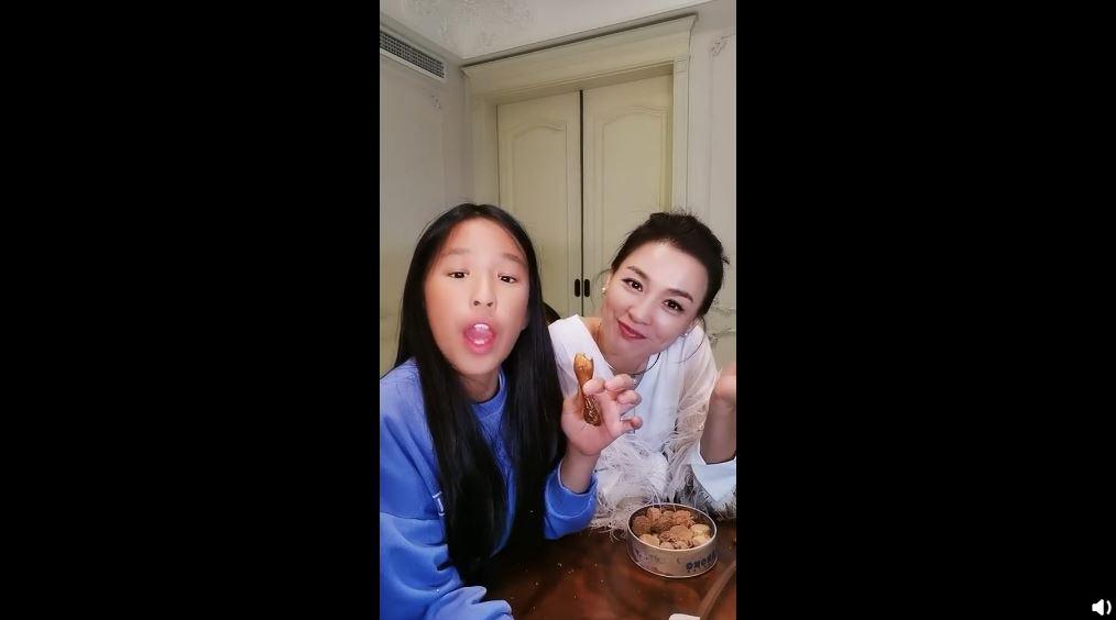 張庭女兒長相遭網友批評 拍片反擊:我又不是靠臉吃飯