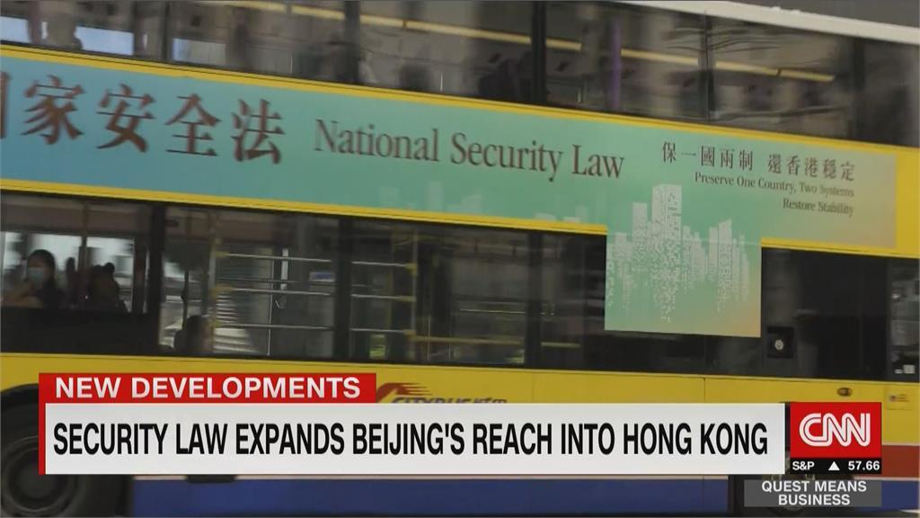 港版國安法生效 特定狀況可移交中國審理