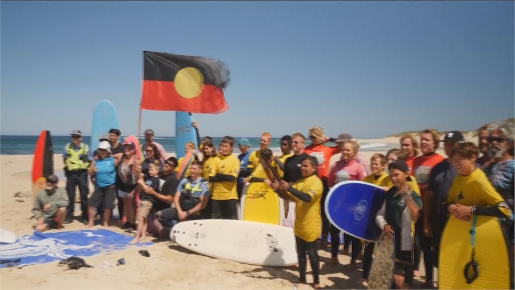 澳洲人文運動課 結合<em>衝浪</em>與原民文化