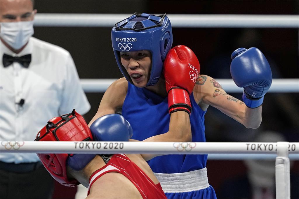 東奧/黃筱雯拳擊力奪銅牌創紀錄 蔡英文大讚:妳是台灣人的驕傲!