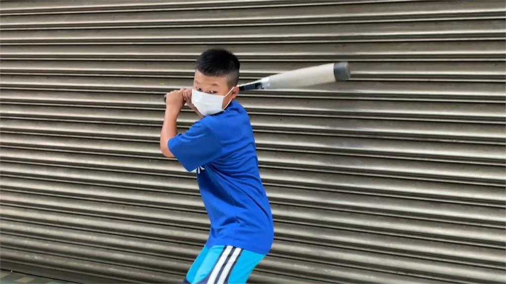 小選手自拍練習影片 棒球教練「遠距指導」