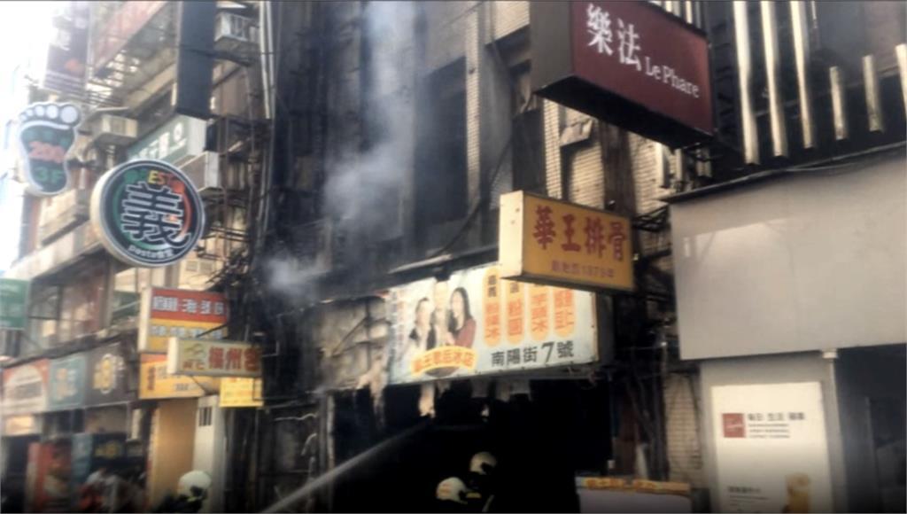 快新聞/台北「補習街」大樓起火 緊急疏散25人嚇壞民眾