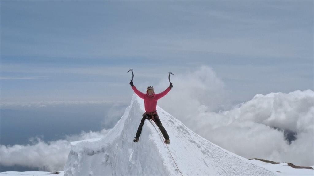 攀登非洲最高峰 極限好手嘆冰川融化