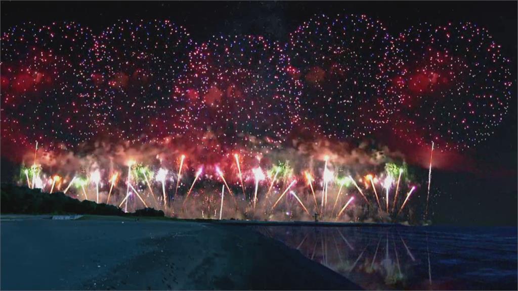 國慶焰火模擬圖樣首度曝光!口罩、飛彈及戰機將登台南夜空