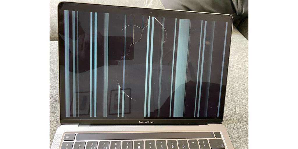 蘋果M1筆電傳螢幕災情?「不在保固範圍內」維修費噴1.5萬元