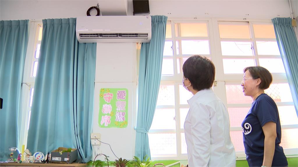 「清涼學習」不讓學生熱昏頭 盧秀燕搶先中央推校園冷氣安裝