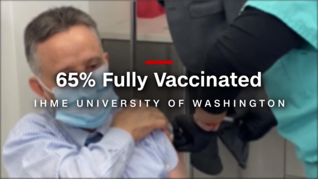美接種疫苗人數破億 15%仍遲疑觀望
