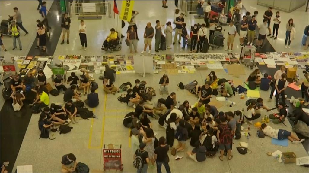 反送中/香港民意擋不住!港府下令「沒機票不能進入機場」