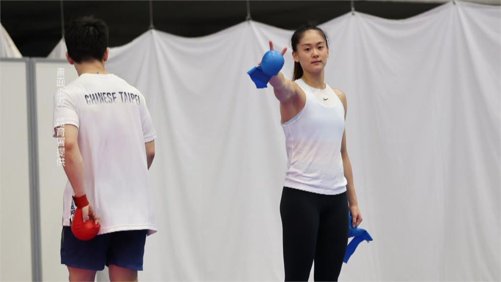 東奧空手道女子55公斤 文姿云四強惜敗獲銀牌