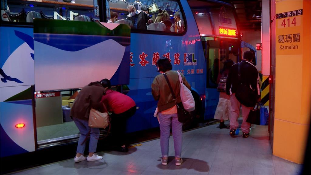 快新聞/台鐵東部鐵路中斷 客運今開行1483班次疏運4.5萬人