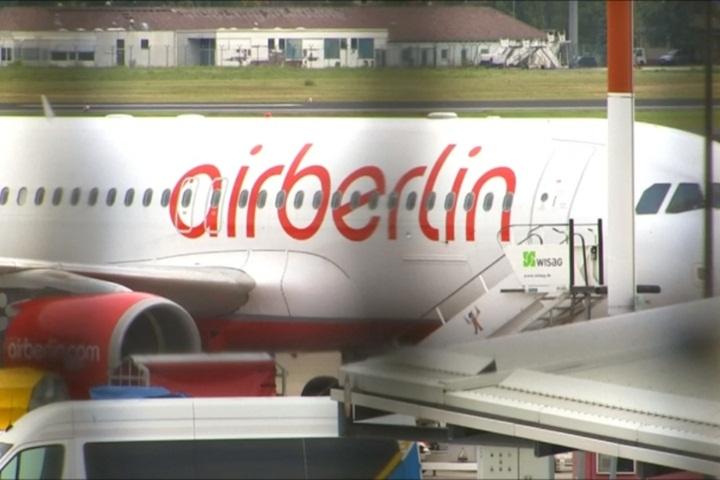 柏林航空破產 大批機師請假100個航班取消