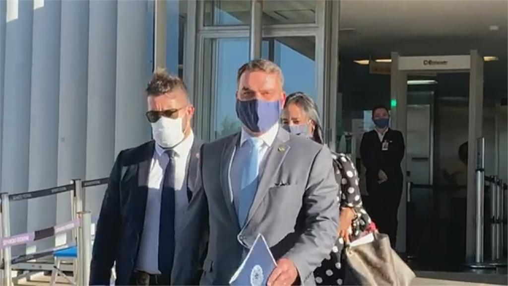 波索納洛家族染疫第4人 巴西總統波長子確診
