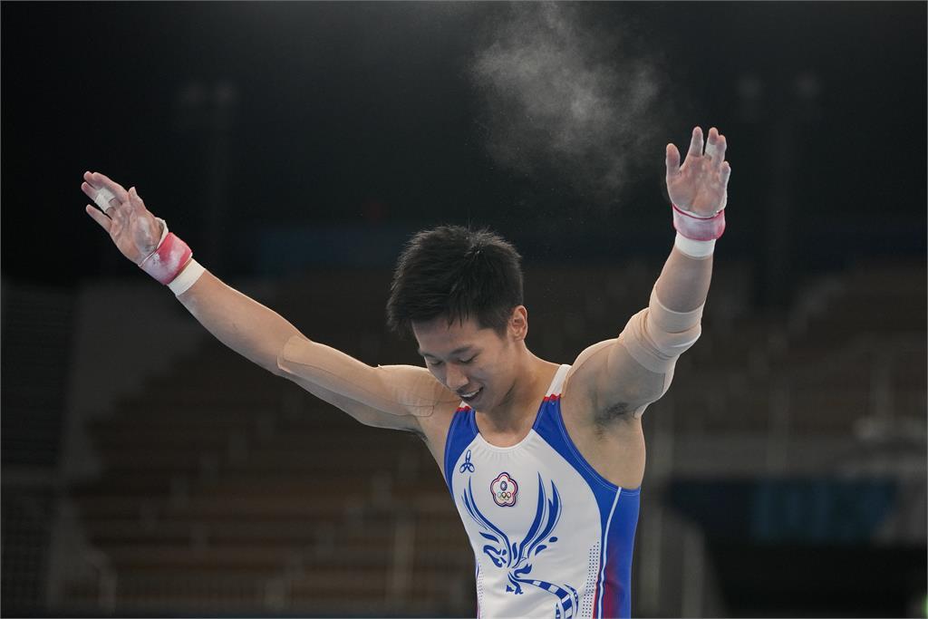 東奧/自曝中學拿過吊環金牌 謝長廷:謝謝李智凱實現我的奧運夢