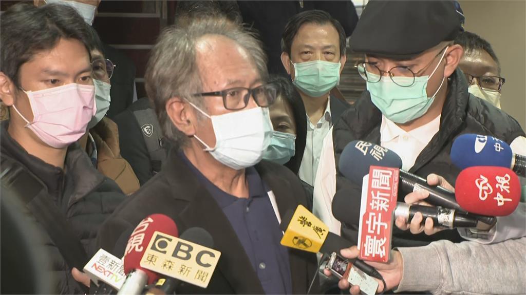 快新聞/涉收賄500萬交保! 陳超明離開北院高喊「清白、委屈」