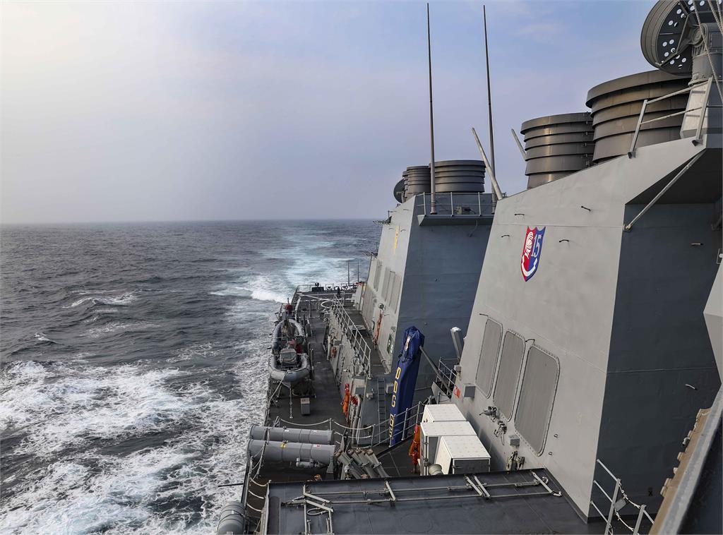 快新聞/美國軍艦今年第7度通過台灣海峽 國防部:全程掌握海空動態