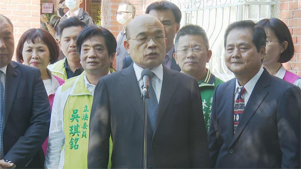 快新聞/習近平指「迎頭痛擊分裂勢力」 蘇貞昌:台灣不要戰爭也不要用戰爭威脅人民