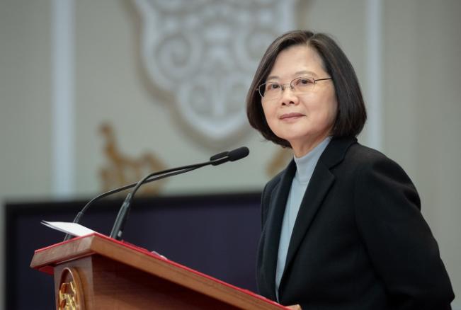 快新聞/入選時代雜誌百大影響力人物 蔡英文榮耀獻台灣:國人共同努力的結果