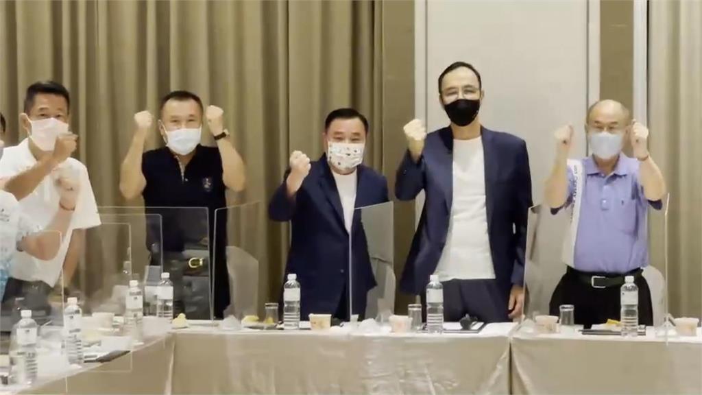 藍黨魁之戰!地方派系倒戈挺朱 江連任現危機