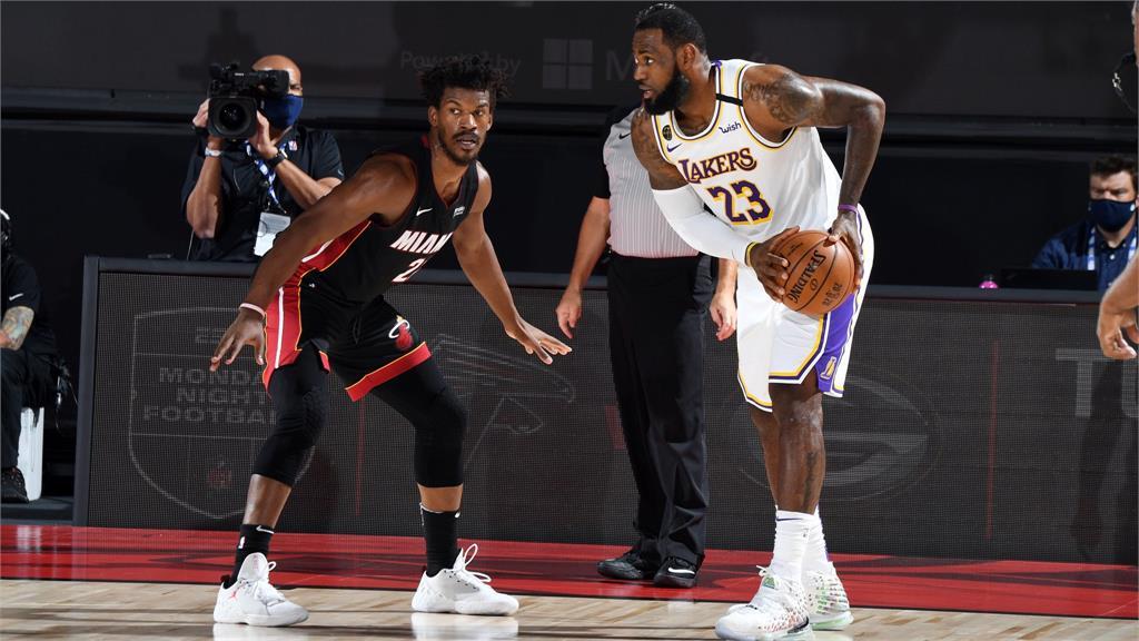 NBA/熱火開胡了!Butler攻下40分大三元 湖人無緣聽牌