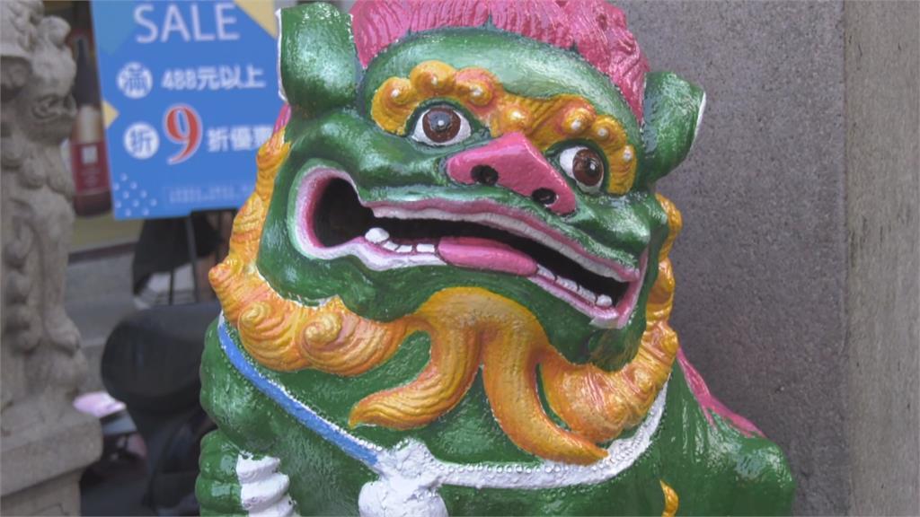 彩繪「石獅仙姑」被批破壞古蹟在地居民不認同 金門市府:必須申請