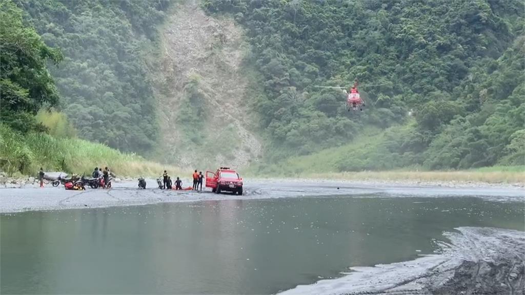 武界野溪露營釀悲 尋獲3遺體仍有1失聯