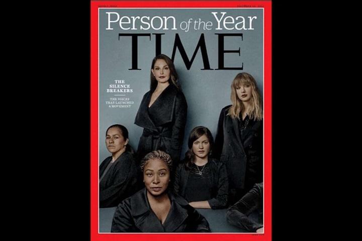 時代雜誌風雲人物揭曉 反性侵眾女星獲獎