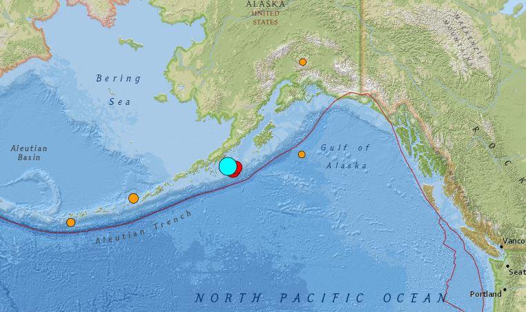 快新聞/美國阿拉斯加外海規模8.2強震 已發布海嘯警報
