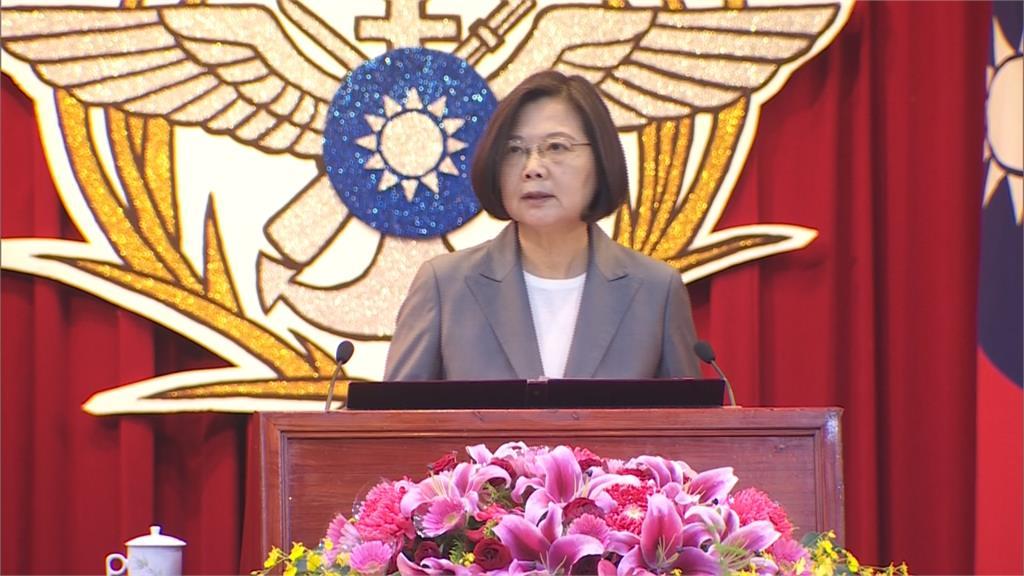 總統級假新聞!駁「施壓關黃智賢節目」蔡英文:台灣是民主國家