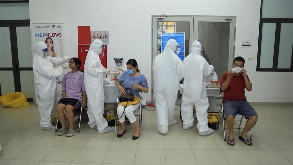 全球/印度變種病毒大舉入侵 越南疫情告急