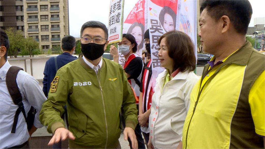 民進黨部主委全台唯一停選! 候選人續互槓