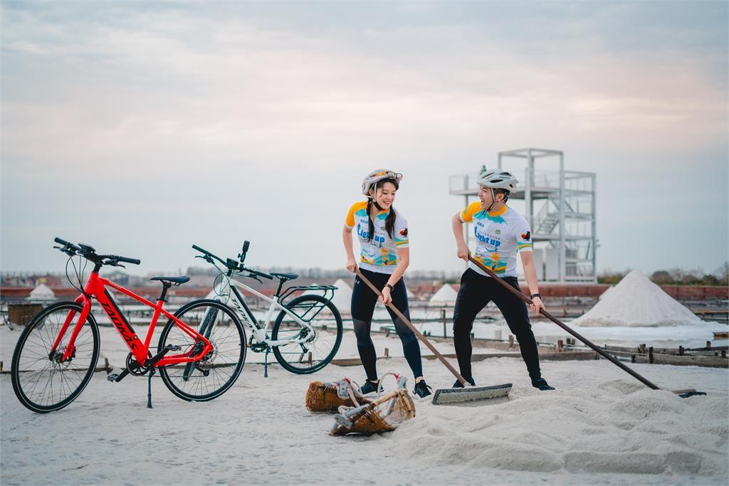 雲嘉南海邊小鎮單車慢遊   美景美食全家共享