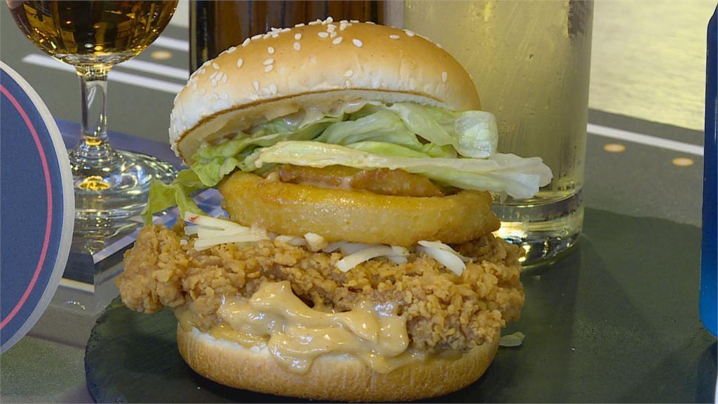 肯德基推限時、限店新餐點 「威士忌咔啦雞腿堡」12日開賣