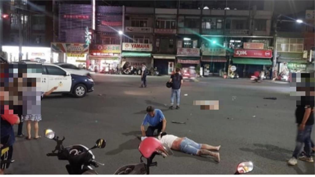 趕上班!高雄楠梓轎車闖紅燈夫妻雙載遭撞1死1傷 小孩不滿一歲